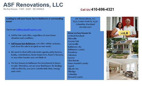 we buy houses baltimore sell house fast baltimore by asfrenovations issuu