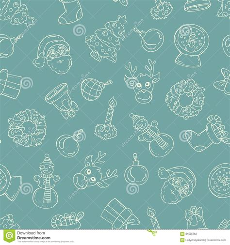 new year color green pattern with symbols of happy new year on green color