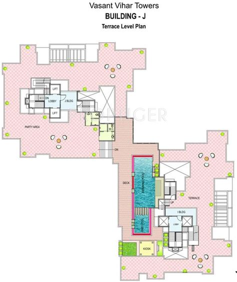 terrace towers floor plans 1374 sq ft 3 bhk 3t apartment for sale in paranjape schemes vasant vihar towers baner pune