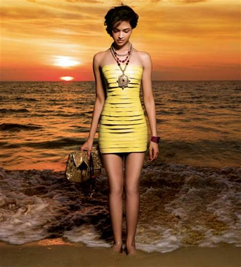 Seaside Photo Shoot For Harpers Bazaar Features Mysterious Dusky Skinned by Deepika Photo Shoot For S Bazaar