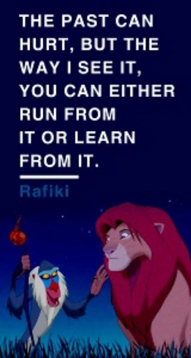 the wisdom of walt leadership lessons from the happiest place on earth books day 27 favorite quote rafiki s words of wisdom i