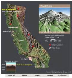 volcano california map are there volcanoes in california if so which volcanoes