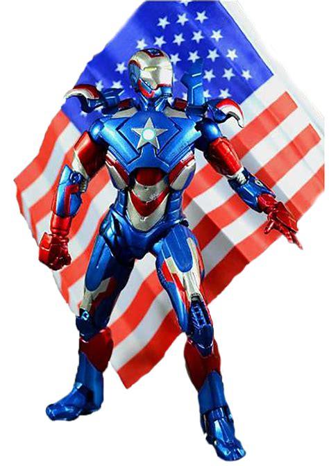 Ironman Figure Iron Patriot 1 iron 3 iron patriot figure iron pvc figure 8 quot 20cm ir006 in