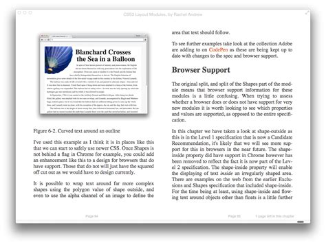 book layout css css3 layout modules