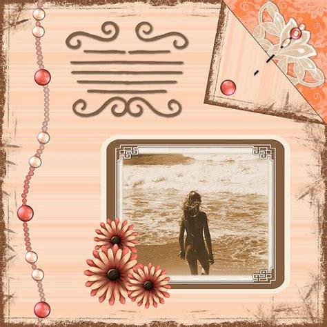 scrapbook layout ideas free free beach vacation scrapbook layout ideas