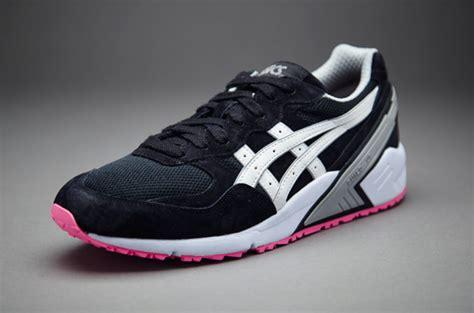 Sepatu Merk Asic sepatu sneaker asics gel sight black white