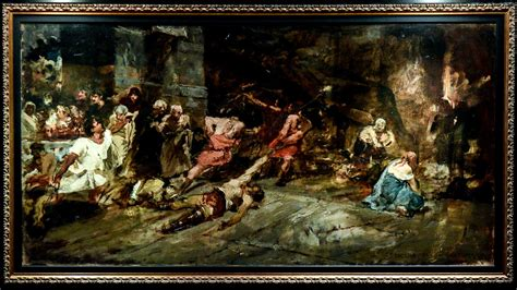 E Painting Meaning by Juan S Boceto Of The Spoliarium Surfaces But Is It Real
