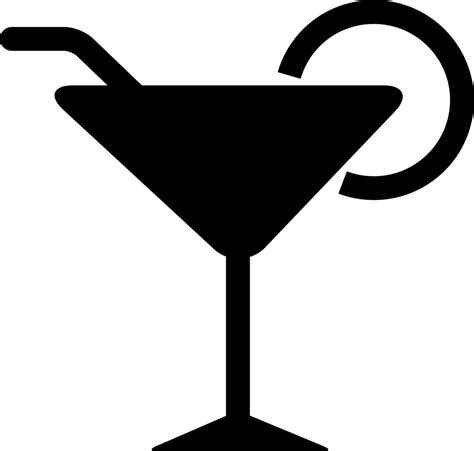 cocktail svg cocktail glass svg png icon free 58654