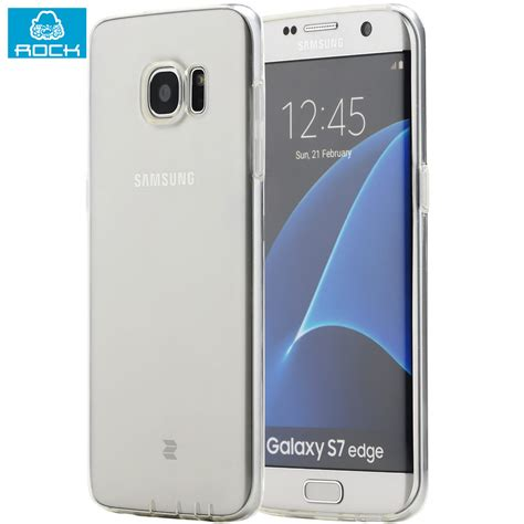 Murah Cocose Samsung Galaxy S7 Edge Tpu S Murah husa samsung galaxy s7 edge rock slim jacket tpu transparent