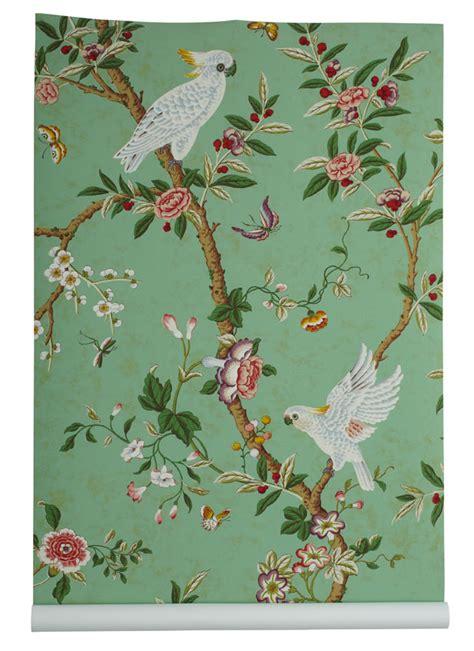 girly bird wallpaper chinoiserie chic are you girly