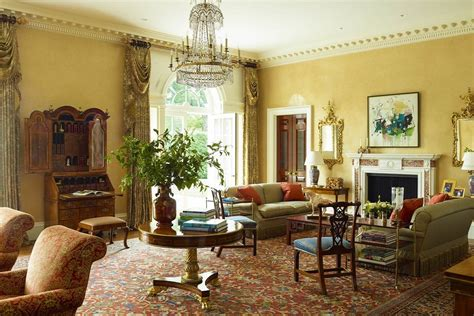 traditional home interiors living rooms georgian modern traditional elegance dk decor