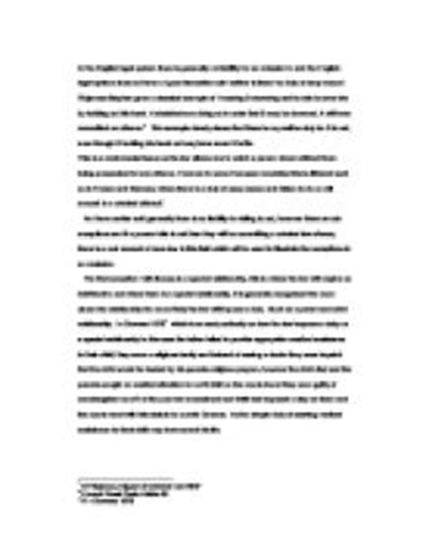 Omissions Criminal Essay by Criminal Omissions In The System There Is Generally No Liability For An