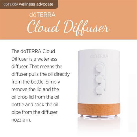 doTerra Cloud diffuser   Family Food Garden
