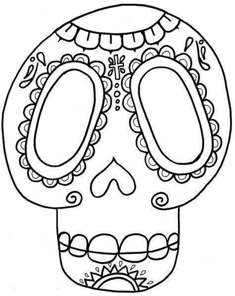 printable masks for day of the dead day of the dead skull coloring pages az coloring pages