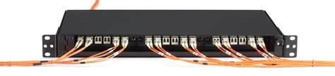 fiber tray visio stencil rackmount fiber enclosure non locking 1u 3 slot black box