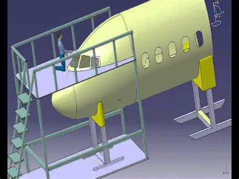 catia v5 structure design 123vid catia v5 aircraft design structure and ergonomics wmv