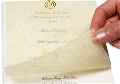 tissue inserts for wedding invitations letter invitation tissue inserts invitations ideas