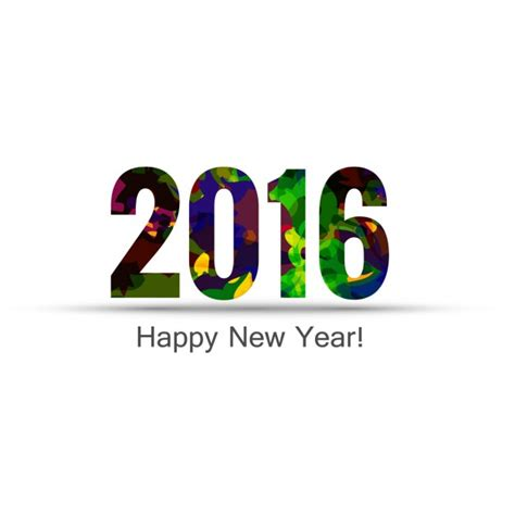 new year 2016 sms messages colorful new year 2016 text vector free
