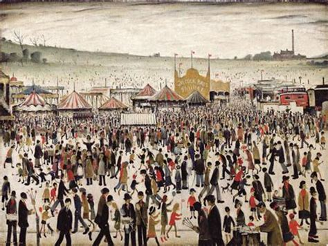 20th Century Ls by Lowry Painting Sets Auction Record Reuters