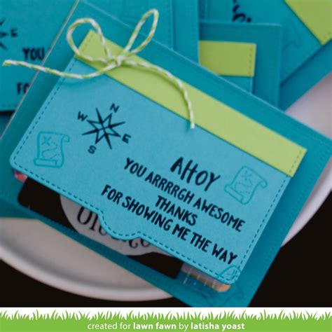 Gift Card Slots - simple gift card slots lawn fawn