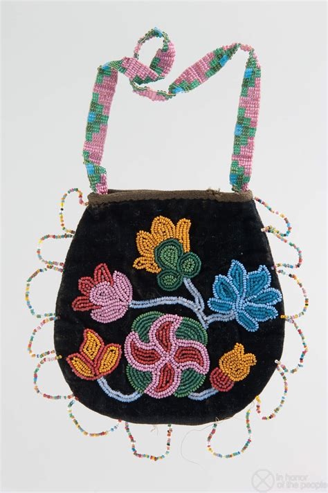 beadwork bag bag in honor of the beadwork
