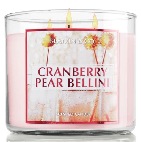 Bath Works Cranberry Pear Bellini 3 Wick S Candle 411 G 1 images of bellini candle happy easter day