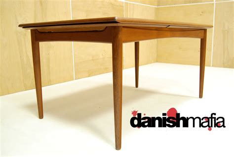 mid century teak table mid century danish modern arne vodder teak dining table