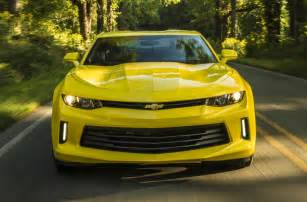 2016 chevrolet camaro performance specs confirmed