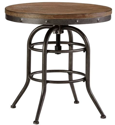 vennilux chairside end table vennilux end table from t500 726 coleman furniture