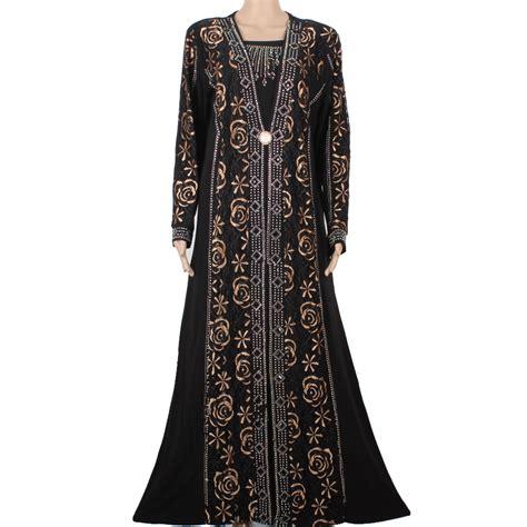 Abaya Muslim Organdi High Quality Real Pict aliexpress buy new muslim abaya islamic