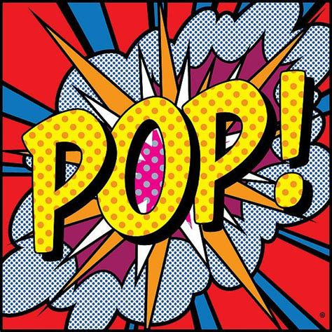 pop arty free coloring pages of pop words
