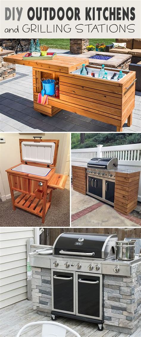 25 best ideas about grill station on backyard