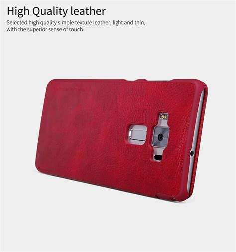 Asus Zenfone C Sarung Flip Cover Ume Classic nillkin qin series leather for asus zenfone 3 deluxe zs570kl
