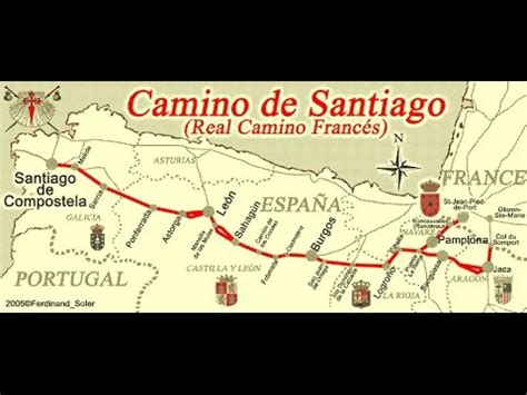 el camino de santiago 8424651812 el camino de santiago de compostela the way of st james june 2015 youtube