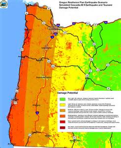 oregon fault lines map the challenges of seismic mitigation in oregon where