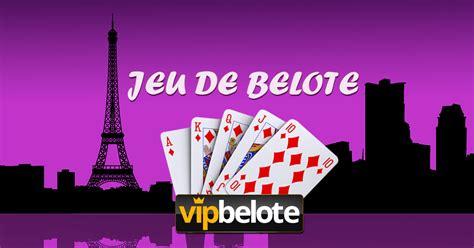 jeu de belote coinche en ligne vip belote