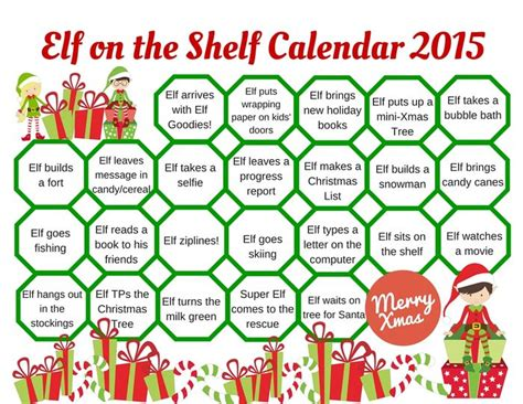 What To Do With The On The Shelf by On The Shelf Calendar A Listly List