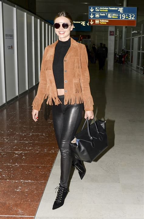 Kris Jenner Home Decor by Mixed Media Miranda Kerr S Leather And Suede Look For