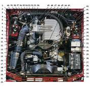 Fox Body Mustang Engine Compartment Identification  Tech