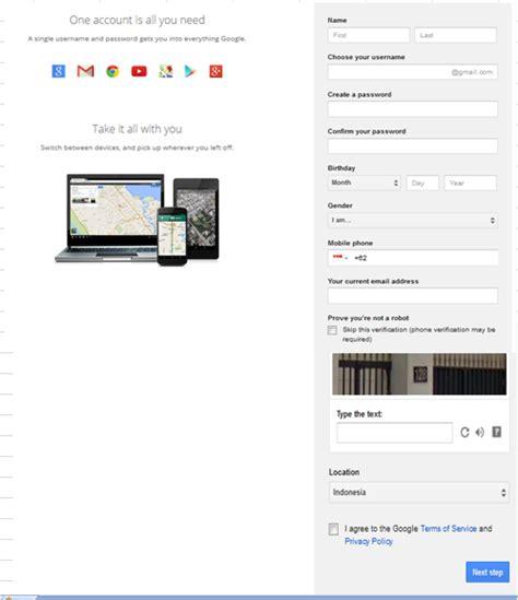cara membuat akun gmail mudah cara membuat akun gmail dengan mudah dan cepat 2015
