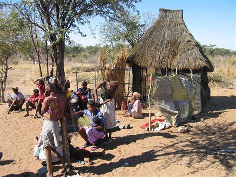 tradisionele xhosa hutte boesman