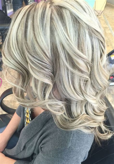 bangs and blending high and low lights to cover gray 25 best ideas about lowlights for blonde hair on