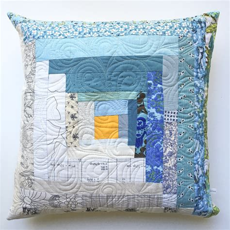 patchwork log cabin my quilt could live here log cabin patchwork throw pillow