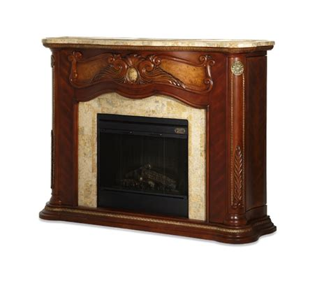 Marble Top Electric Fireplace by Ichael Amini Cortina Fireplace W Marble Top Electric