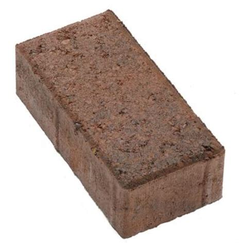 Concrete Patio Stones Home Depot by 4 In X 8 In Charcoal Concrete Paver