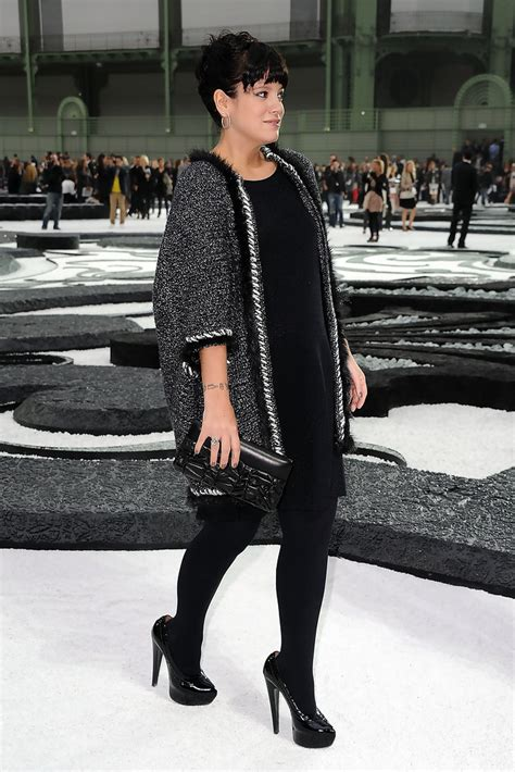 Lilly Allen For Chanel by Allen In Chanel Photocall Fashion Week