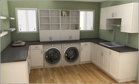 laundry room sink cabinets c m cabinets and granite llc
