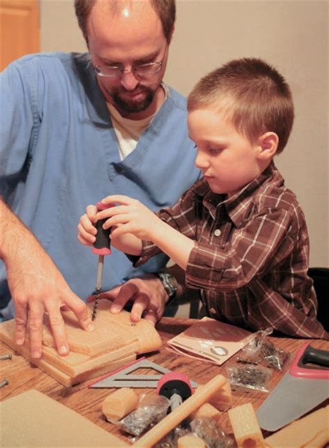 first father son quot construction quot project letters from the