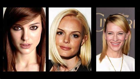 Haarstijlen Halflang by Asymmetrische Kapsels Halflang Haar