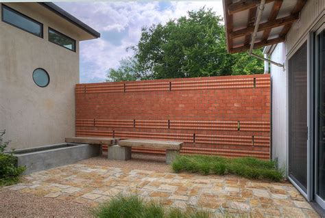 modern retaining wall railroad tie retaining wall for a modern patio with a wood